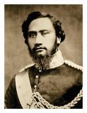 Kamehameha IV Lámina giclée