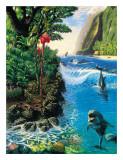 Isla Armonía Lámina giclée por Andrew Annenberg