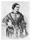 Clara Schumann, wife of Robert Schumann, Giclee Print