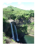 Wailua Falls Kauai Hawaii Photographic Print by Miska Slock