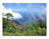 Kalalau Lookout Kokee State Park Kauai Hawaii Photographic Print by Miska Slock