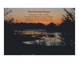 Prière de sérénité Reproduction photographique par Scott Kuehn