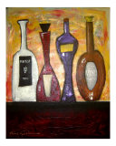 Nonno's Homemade Wine Giclee Print by Gino Savarino