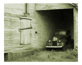 Old Truck and Barn Photographic Print by James Davidson