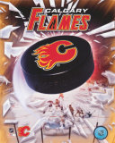 Calgary Flames 2005 - Logo / Puck Photo