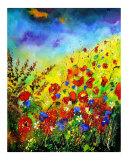 Poppies Giclee Print by Pol Ledent