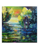 Magic Pond Giclee Print by Pol Ledent