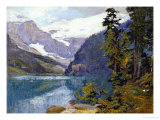 Lake Louise, British Columbia Premium Giclee Print by Edward Henry Potthast