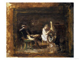 Study for Courtship Posters by Thomas Cowperthwait Eakins