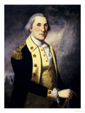 Portrait of George Washington Premium Giclee Print by James Peale