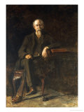 Portrait Dr. William Thompson, circa 1907 Prints by Thomas Cowperthwait Eakins