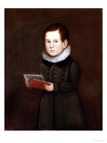 Portrait of a Young Boy, circa 1830 Giclee Print by Zedekiah Belknap