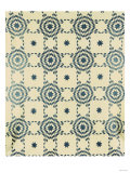 A Pieced and Appliqued Cotton Quilted Coverlet, American, Mid 19th Century Giclee Print