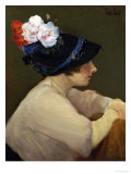 The New Hat Giclee Print by Frank Coburn