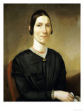 Portrait of Ann Cochrells, 1848 Giclee Print by David Parr
