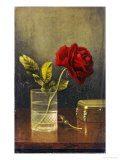 The Queen of Roses Prints by Martin Johnson Heade