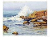Summer Sea, Laguna Beach, 1915 Giclee Print by Anna A. Hills