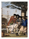 The Bostonian's Paying the Excise Man or Tarring and Feathering (Fowble 93), 1774 Giclee Print by Philip Dawe