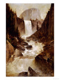 Vernal Falls, Yosemite, 1889 Giclee Print by Thomas Hill
