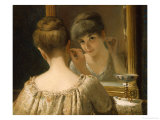 The Coquette Giclee Print by James Wells Champney