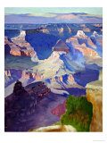 Grand Canyon Reproduction procédé giclée par Gunnar Widforss