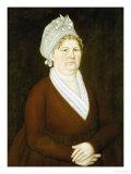 Hanna Voss, Kittery, Maine, circa 1795 Giclee Print by John Brewster