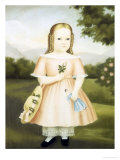 Portrait of a Girl Giclee Print by Joseph Whiting Stock