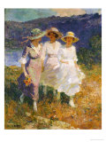 Walking in the Hills Giclee Print by Edward Henry Potthast