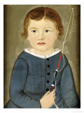 Portrait of a Young Boy Premium Giclee Print by William Matthew Prior