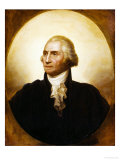 Portrait of George Washington Lmina gicle por Rembrandt Peale