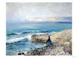 Incoming Fog, la Jolla Reproduction procédé giclée par Guy Rose
