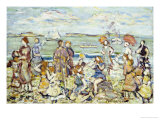 The Inlet Giclee Print by Maurice Brazil Prendergast