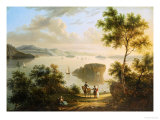 The Hudson River, American School, 19th Century Giclee Print