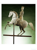 An Extremely Rare and Important Molded Copper and Zinc Horse and Rider Weathervane, circa 1860 Giclee Print by J. Howard & Company
