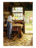 Village Carpenter, 1899 Giclee Print by Edward Henry Potthast