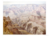 Yavapai Point Reproduction procédé giclée par Gunnar Widforss