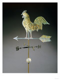 Molded and Gilt Copper Weathervane, American, Early 19th Century Posters