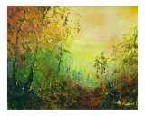 In the wood Hour Giclee Print by Pol Ledent