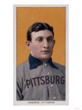 Honus Wagner Baseball Card Prints