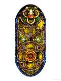 A Leaded Glass Window of Geometric Design Giclee Print by  Tiffany Studios