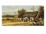Daily Chores Giclee Print by William Aiken Walker