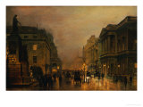 Pall Mall Prints by John Atkinson Grimshaw