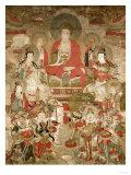 Buddhas, 1675 Giclee Print
