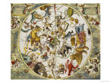 Atlas Coelestis Seu Harmonia Macrocosmica, 18th Century Gicl&#233;e-Druck von Andreas Cellarius