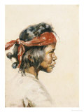 Indian Boy Giclee Print by William Robinson Leigh