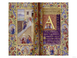 The Virgin Ascending the Stairs to the Temple, circa 1500 Giclee Print