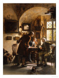 The Argument Giclee Print by Johann Hamza