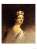 Queen Victoria, 1871 Premium Giclee Print by Thomas Sully