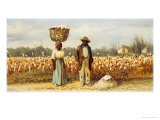 The Cotton Pickers Giclee Print by William Aiken Walker