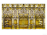 "A ""Jeweled"" Leaded Glass Window, 1898 Giclee Print by  Tiffany Studios"